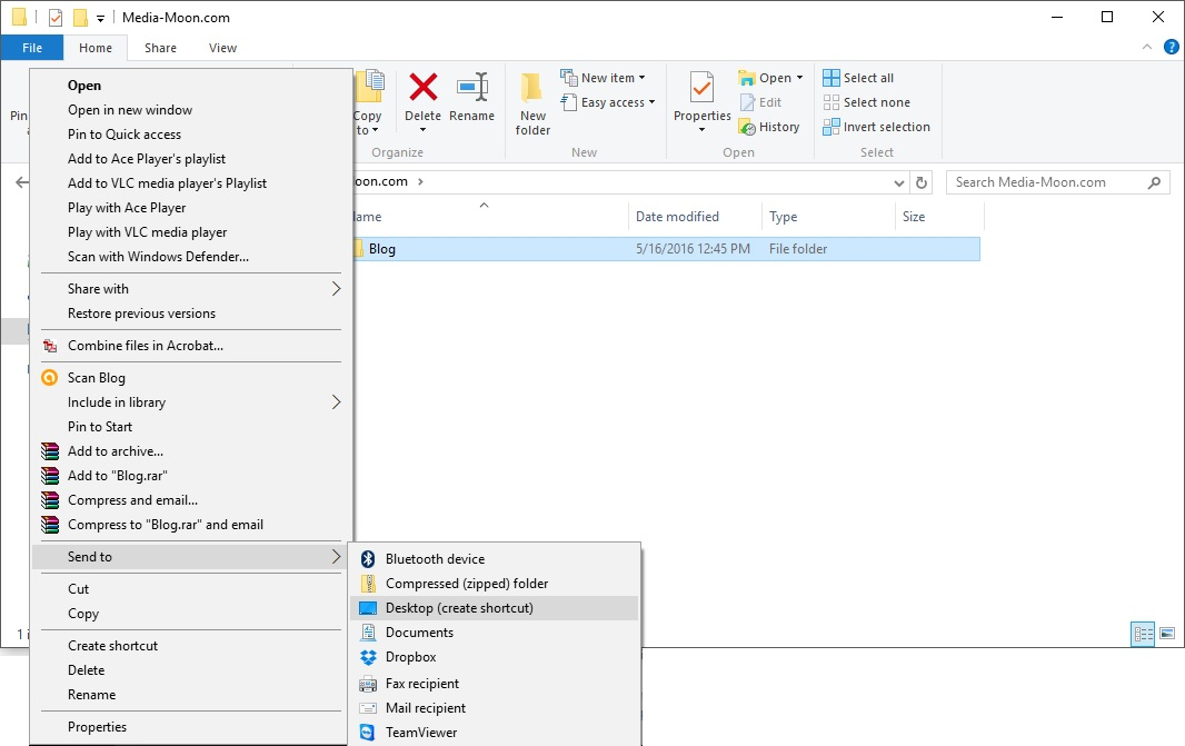 how to add website shortcut to desktop internet explorer